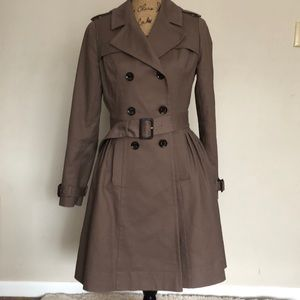 Ted Baker Coat Size 2 Small Peplum